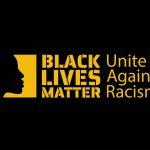 Black Lives Matter - Unite Against Racism art piece